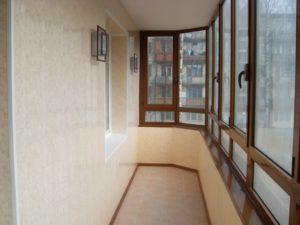 Ремонт стен лоджии, как способ расширения пространства квартиры