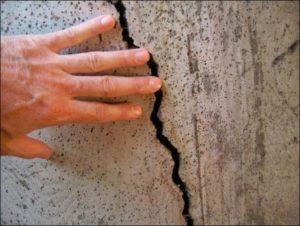 ремонт поврежденных стен