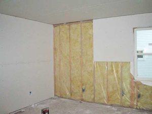 как сделать ремонт стен с утеплителем