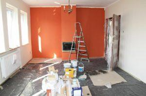 ремонт отделка стен частного дома
