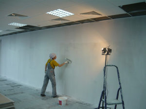 ремонт стен жидким стеклом