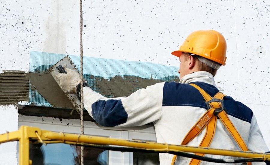 наружный ремонт стен