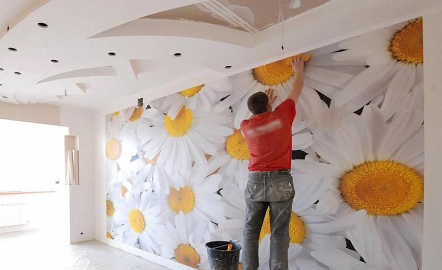 косметический ремонт стен своими руками