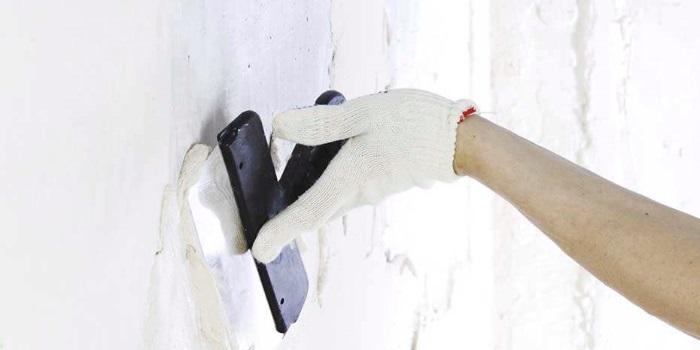 Алгоритм ремонта стен