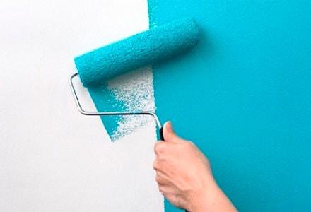 ремонт покрытие стен