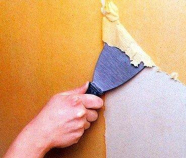 подготовка основания стен