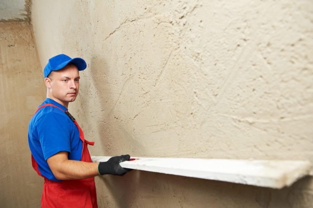 ремонт монолитных стен