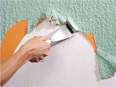 Содрать обои для ремонта стен в квартире