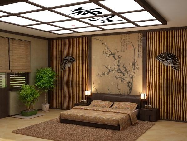 Бамбуковые панели в интерьере