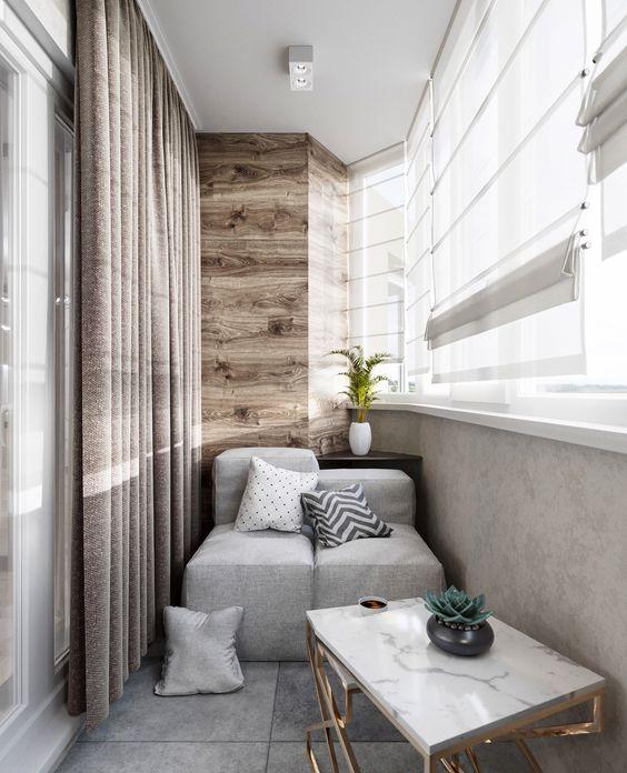 балконная перегородка из гипсокартона