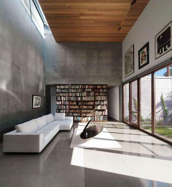 Бетонная стена (библиотека)