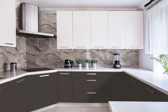 акриловые панели в кухне
