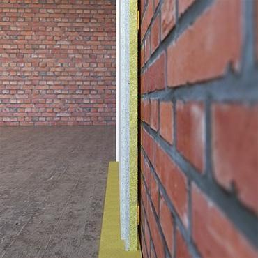 панели для шумоизоляции на кирпичную стену