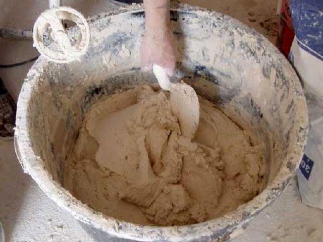 известняково-глиняный раствор