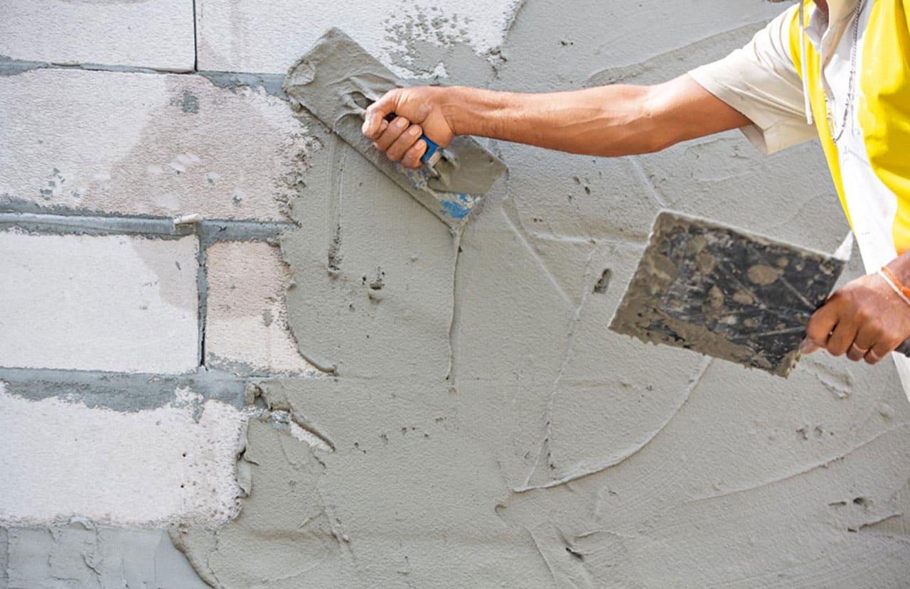 шпаклевка цементом