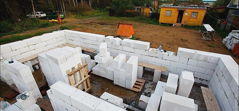 армирование наружной стены