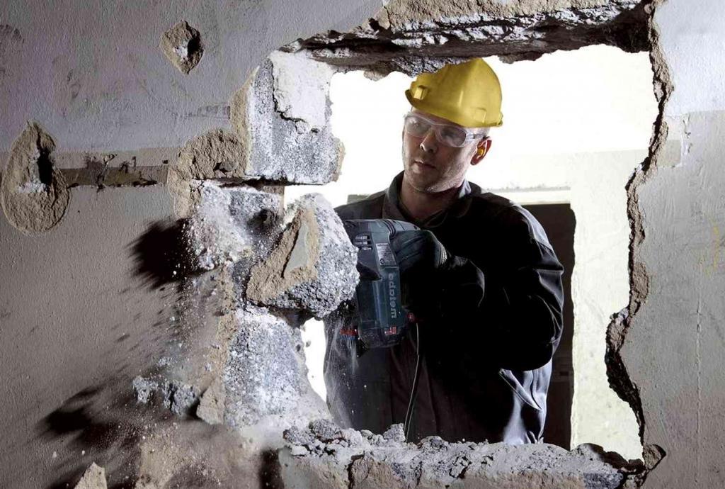 инструменты для сноса стен