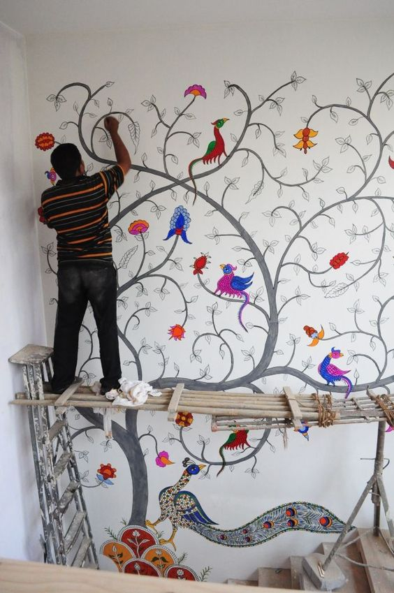 способы нанесения фрески