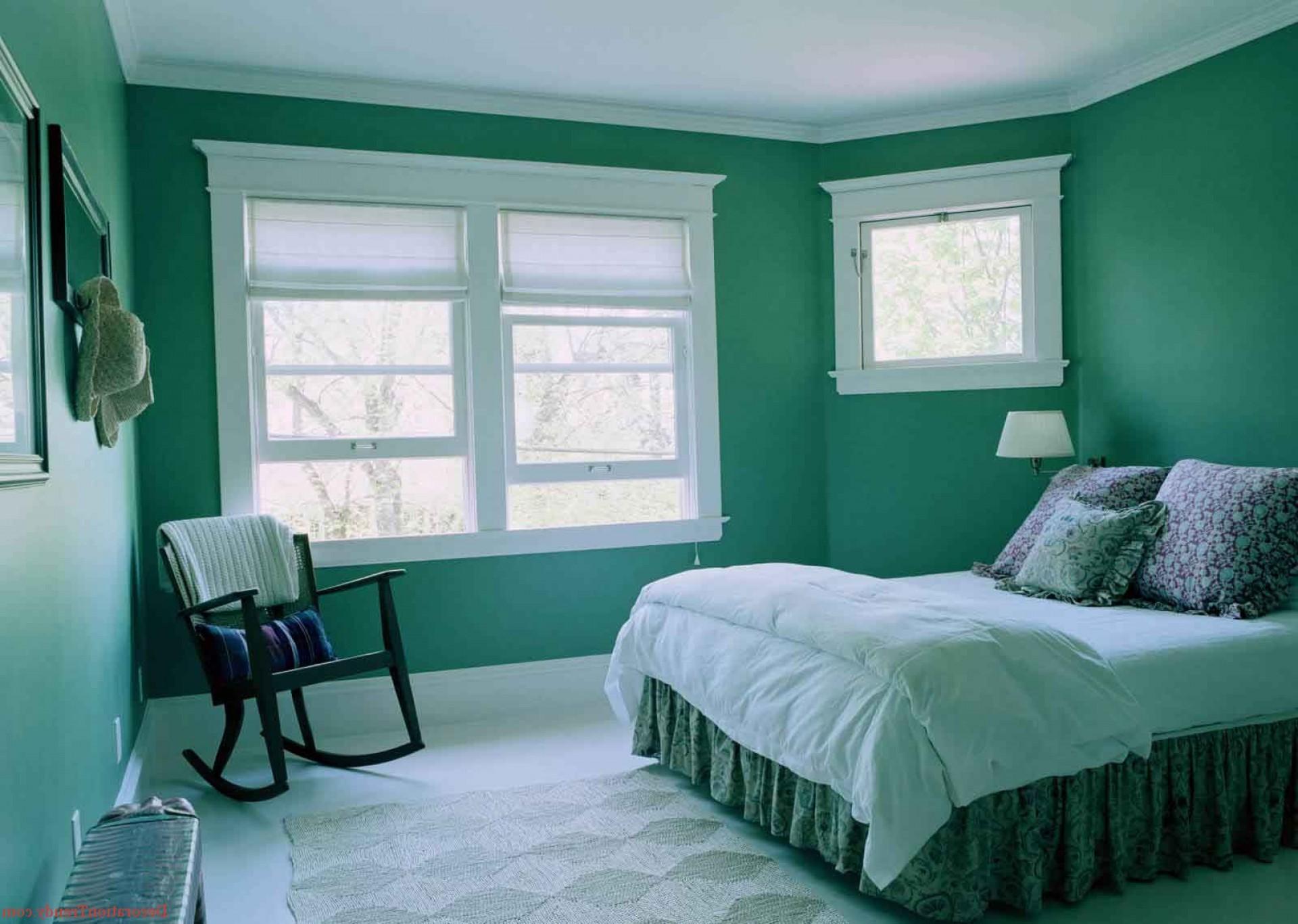 краска стен в спальне
