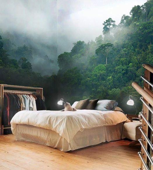 фотообои в спальной