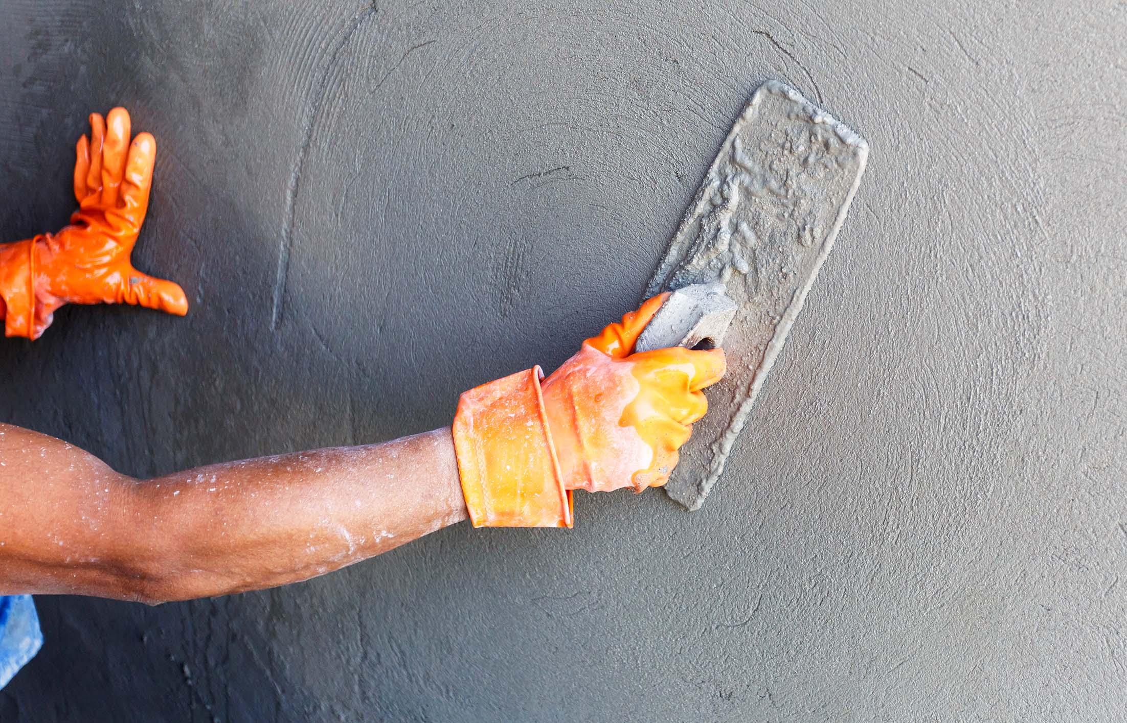 штукатурка под бетон