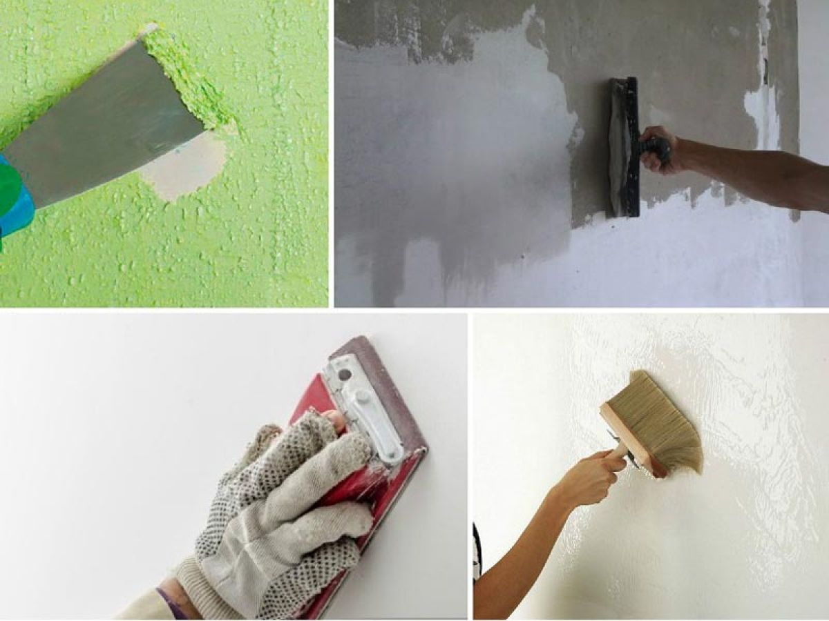 подготовка стен под окраску