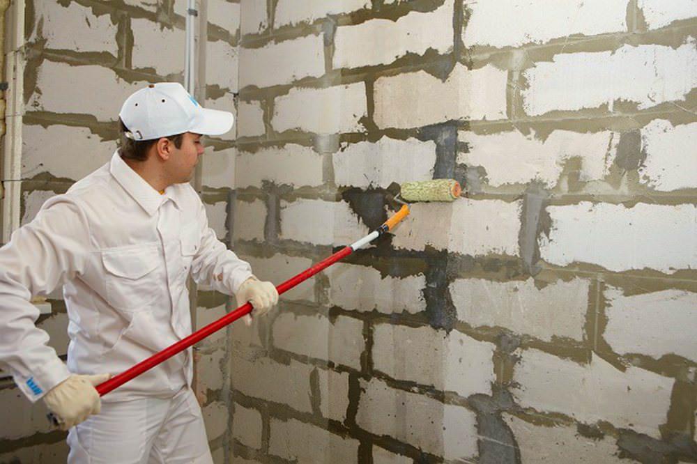 подготовка стен под штукатурку