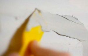 способы заделки дыр в стене