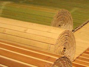разновидности бамбуковых обоев