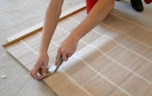 технолгия поклейки бамбуковых обоев