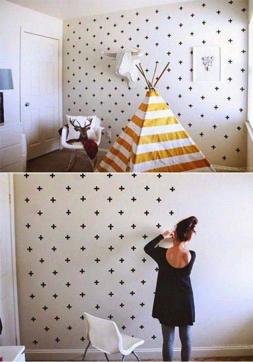 разрисовывание стен