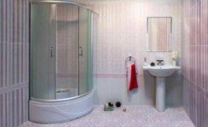 перегородка для ванны и душа