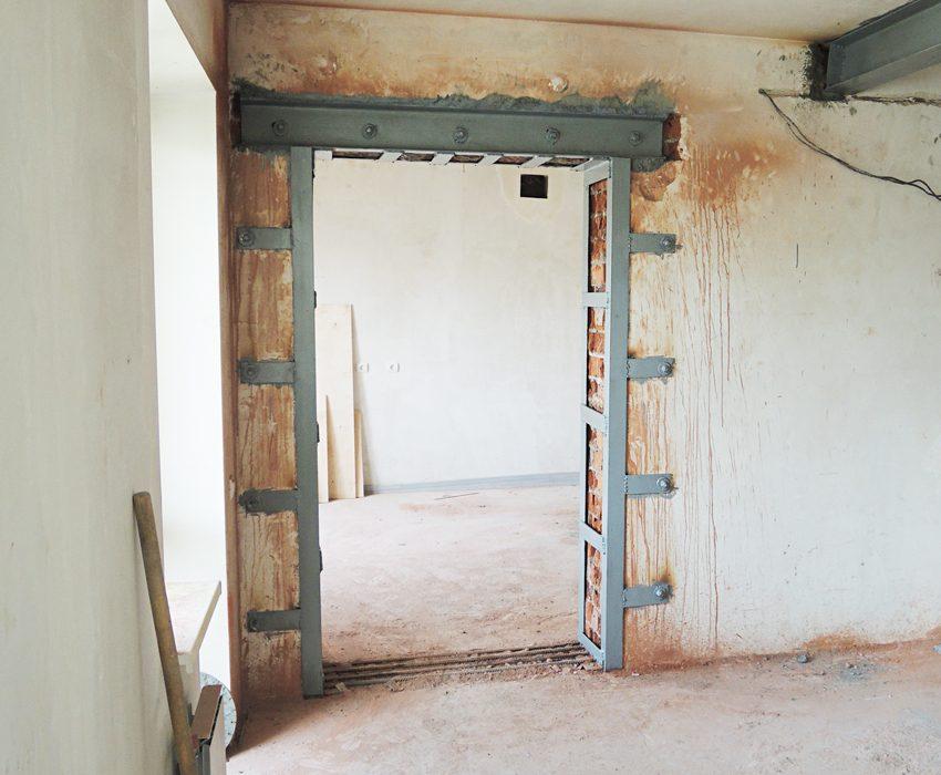 увеличиваем дверной проем