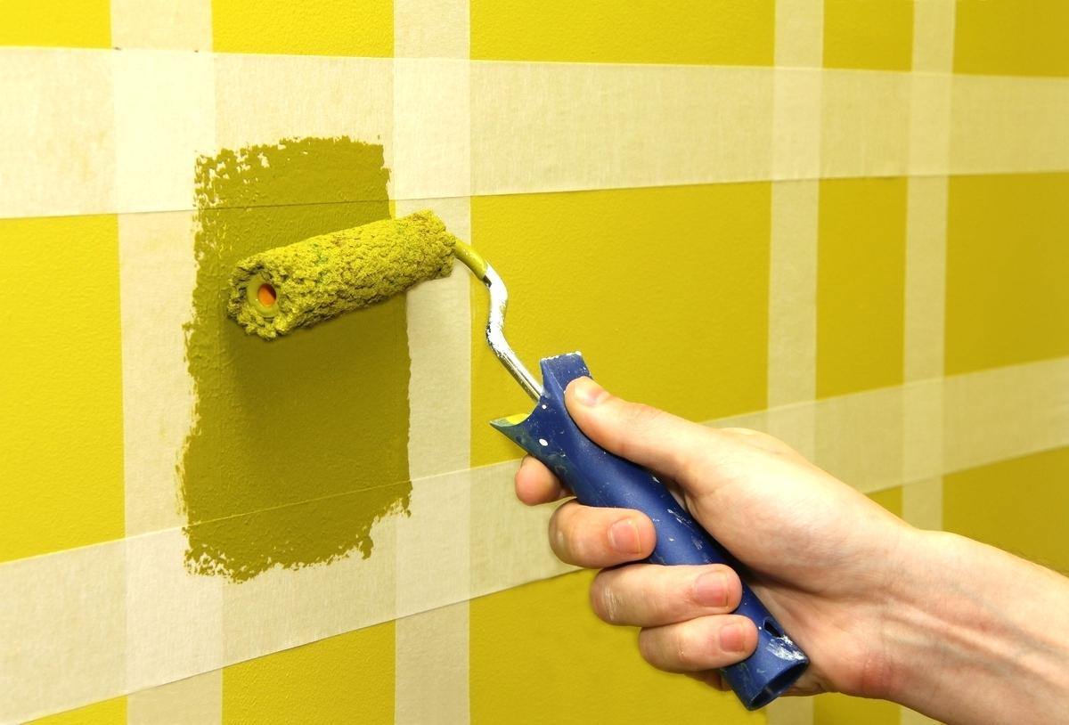 перекрашиваем стены