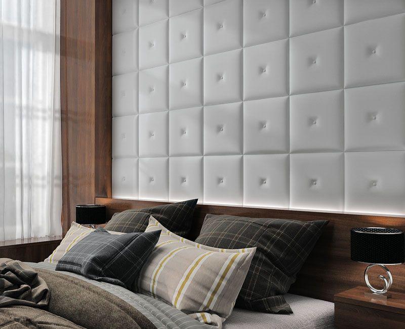 кожаные панели для стен