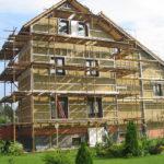 Ремонт наружной стены дома – как сделать