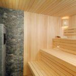 Ремонт стен в бане и сауне