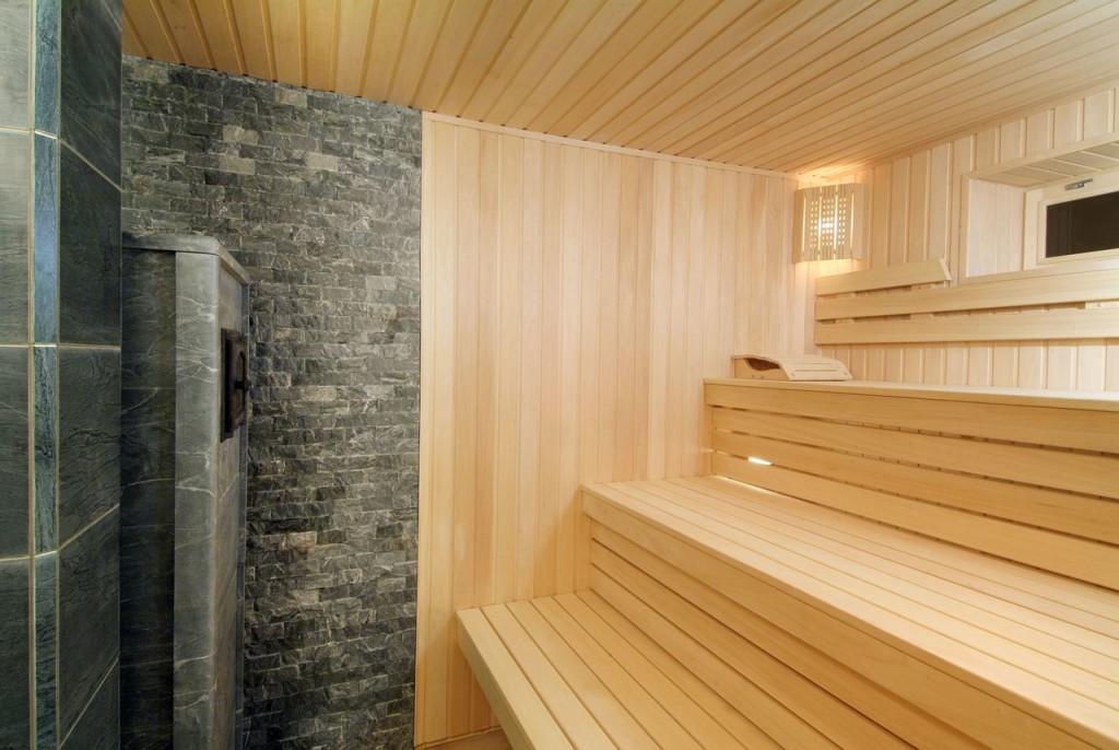 Ремонт стен в бане