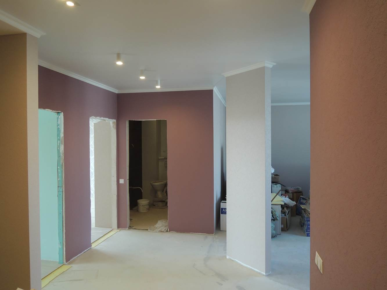 ремонт перенос стен