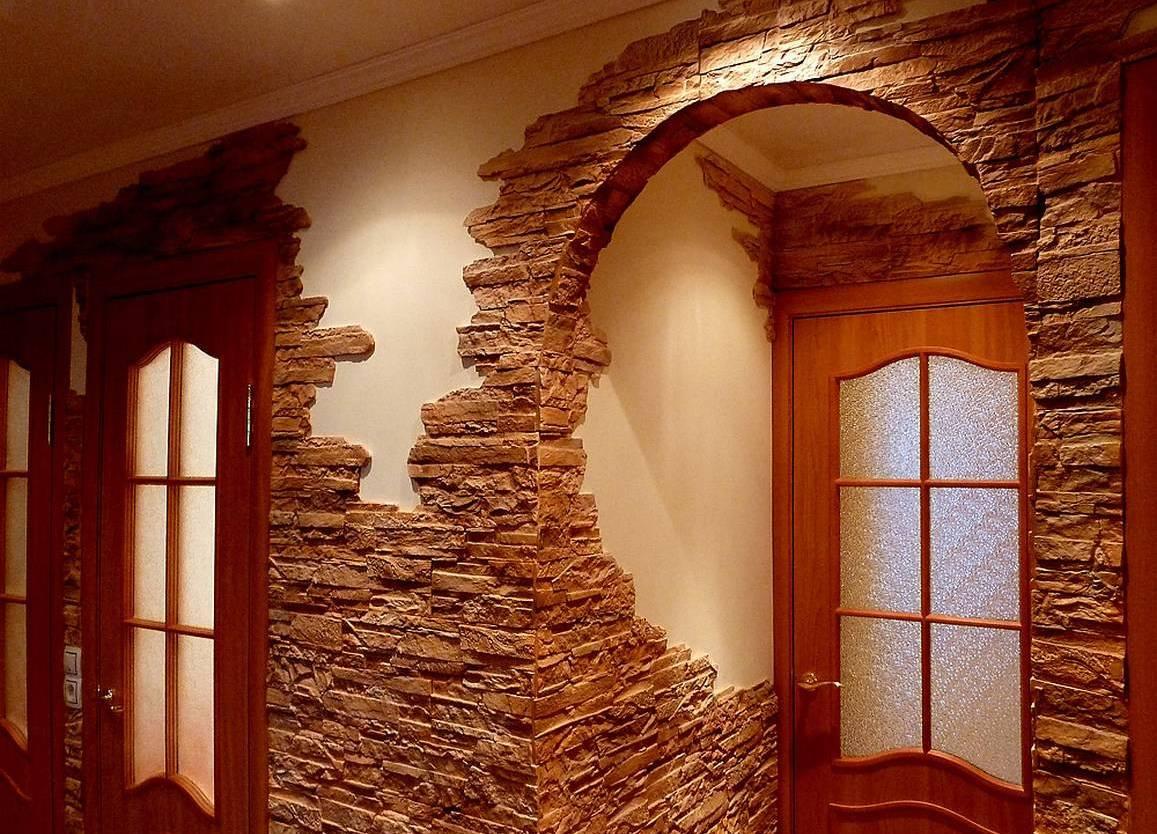 ремонт стен в частном доме