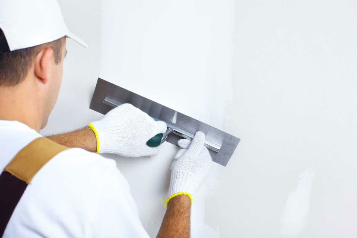школа ремонта шпаклевать стены