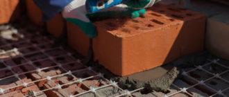 усиление кирпичной кладки