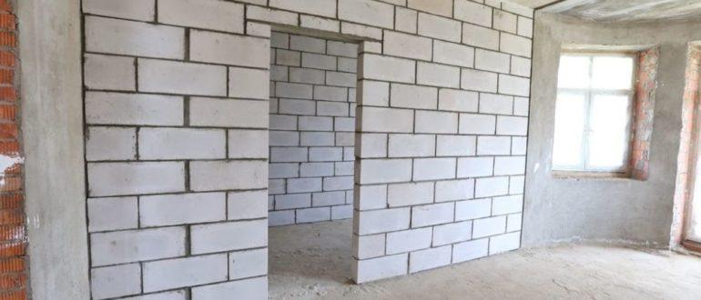 демонтаж стен из пеноблоков