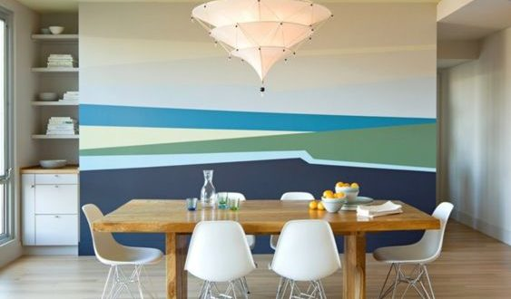 красивая покраска стен
