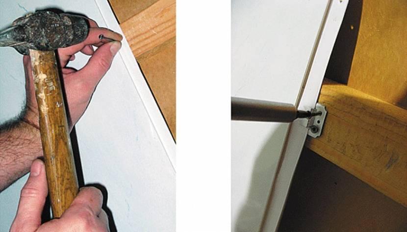 крепим ПВХ-панели к стене