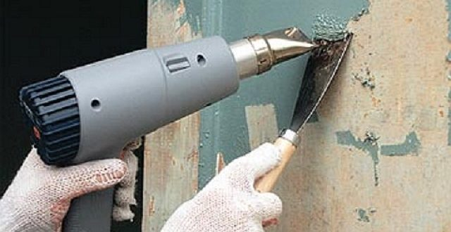 как очистить стены от краски