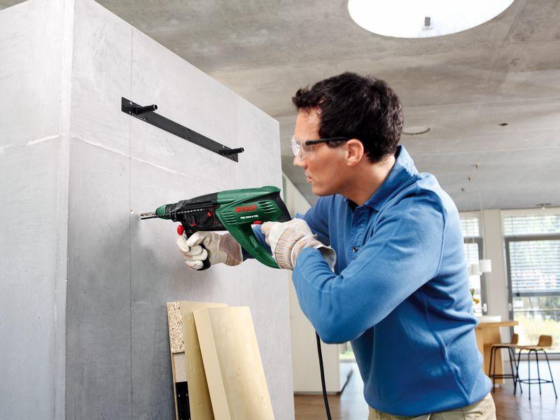 сверлим стены без пыли